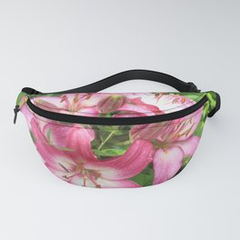 pink lilies  Fanny Pack