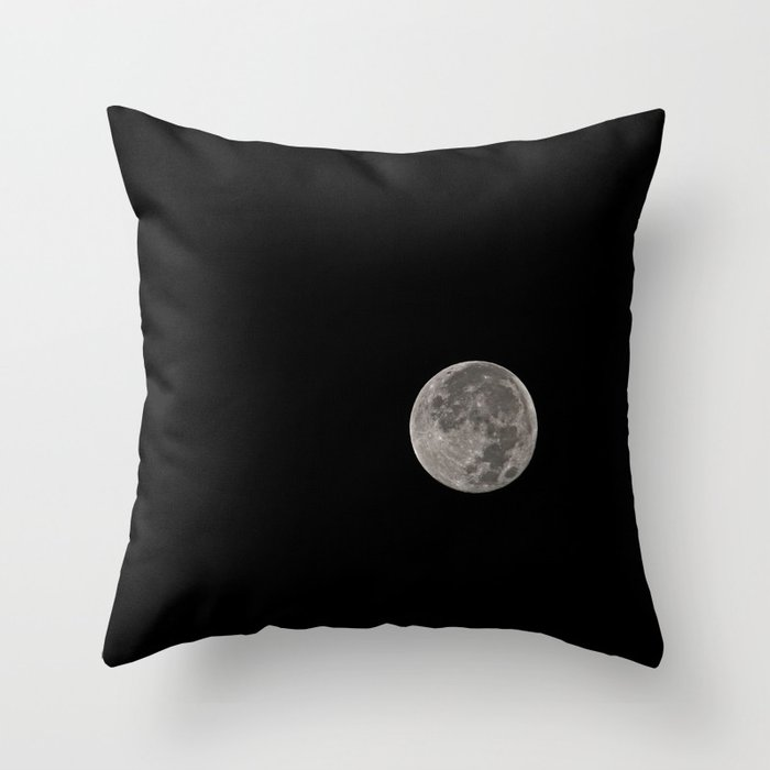 Full Buck Moon Throw Pillow by photographybymichiale
