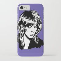 randy c iPhone & iPod Cases featuring Randy Rhoads by Laura Meg