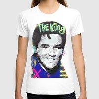 elvis presley T-shirts featuring Elvis Presley  by Paola Gonzalez