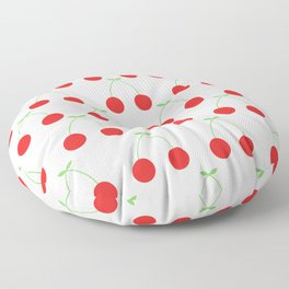 Cherry Pattern Floor Pillow