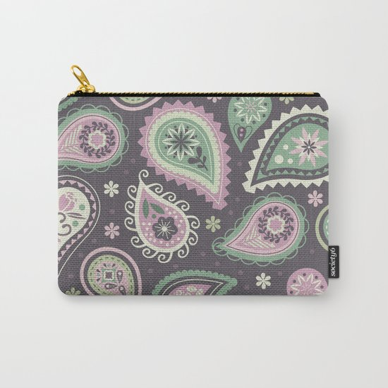 Soft romatic paisleys Carry-All Pouch