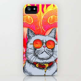 Natural Born Kittens iPhone Case