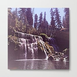 Waterfall Alt. (Seventies Tones) Metal Print
