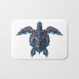 Sea Turtle (Color Version) Bath Mat