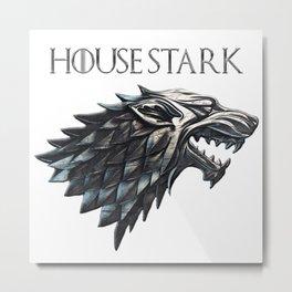 Stark Metal Print