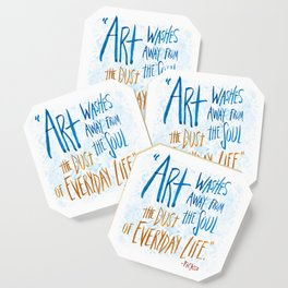 Picasso Quote Coaster