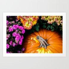 Autumn Still Life Art Print