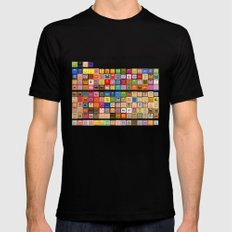 The Periodic Table of the Muppets Black Mens Fitted Tee X-LARGE