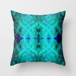 Summer Blue Throw Pillow