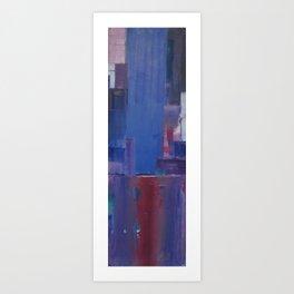 Blue 2011 Art Print