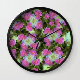 Grape Sentinels Wall Clock