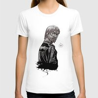 rick grimes T-shirts featuring The Walking Dead Rick Grimes by Cursed Rose