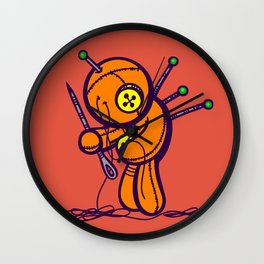 On The Mend Wall Clock