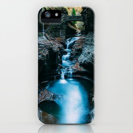 Chasing Waterfalls iPhone Case