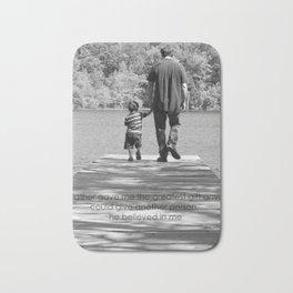 Father & Son Bath Mat