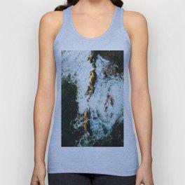 OCEAN - SEA - WATER - ROCKS - PHOTOGRAPHY Unisex Tank Top