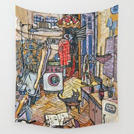 Evening in St. Petersburg Wall Tapestry