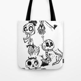 Bone Heads Tote Bag
