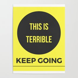 Keep Going MFM Poster