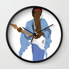 Jimi H. #2 Wall Clock