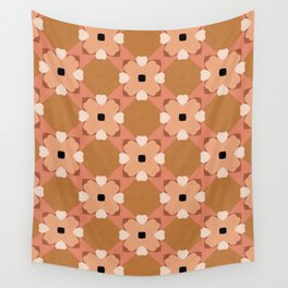 Moroccan floral rattan Wall Tapestry
