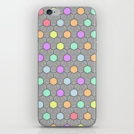 Careless Woman Pattern V1 iPhone Skin