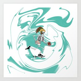 Half Pipe Full of Choices Art Print