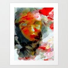 SHHH Art Print