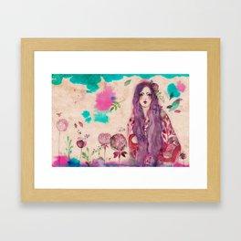 Asuka Girl Framed Art Print