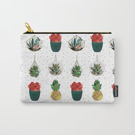 Festive Succulents Carry-All Pouch