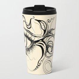 Eye Fish Doodle Travel Mug