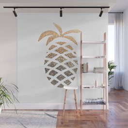 GOLD PINEAPPLE Wall Mural
