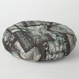 Bohemian Combo Blue Floor Pillow