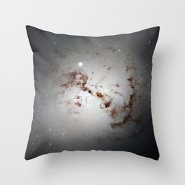 Elliptical Galaxy Throw Pillow