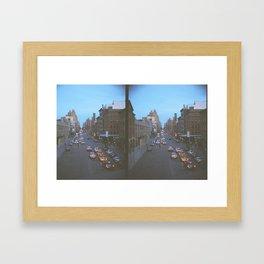 14th St. Film Framed Art Print