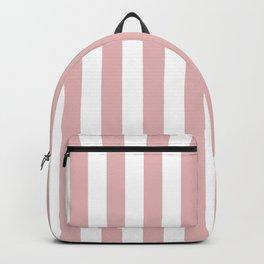 Stripes - rose pink Backpack