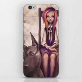 Little Mistress iPhone Skin