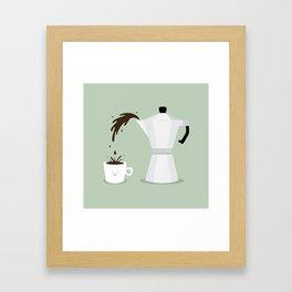 Espresso Time! Framed Art Print