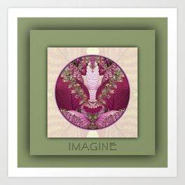 Imagine Manifestation Mandala No. 3 Art Print