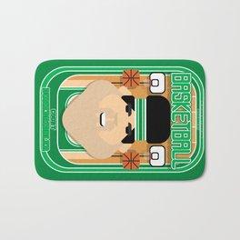 Basketball Green - Court Dunkdribbler - Victor version Bath Mat