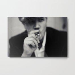 Smoking Gun. Metal Print