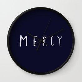 Mercy x Navy Wall Clock