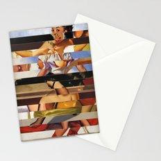 Glitch Pin-Up Redux: Heather Stationery Cards