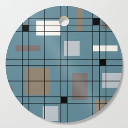 1950's Abstract Art Cutting Board