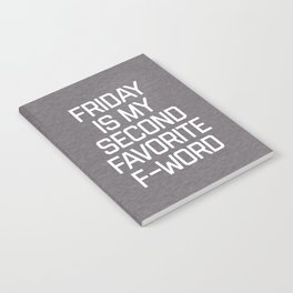 Favorite F-Word Funny Quote Notebook