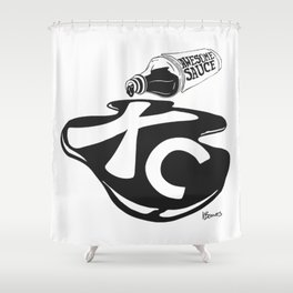 Awesome Sauce Shower Curtain