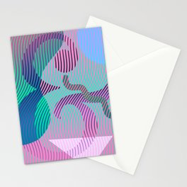 Moiré Ampersand Stationery Cards
