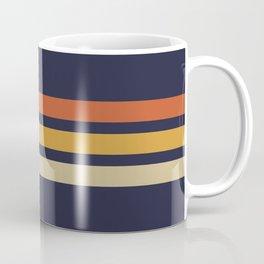 Vintage Retro Stripes Coffee Mug