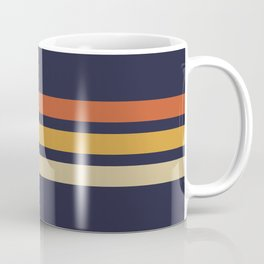Vintage Retro Stripes Coffee Mug